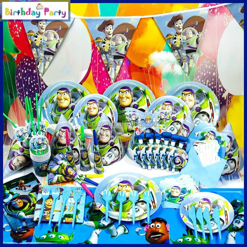 toy story kids birthday party supplies and party decorations