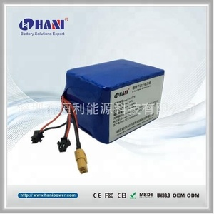 Dyu Electric Bike Battery Pack HA076 36V 10.4Ah Battery Pack for Dyu Electric Scooter 36V Lithium Ion Battery Pack
