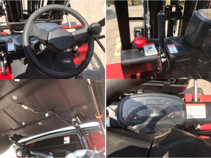 5 tonnes de chariot élévateur de chargeur CPCD50 5 T CHARIOT ÉLÉVATEUR DIESEL CHINOIS XICHAI 4110 moteur moteur fabriqué Au Japon