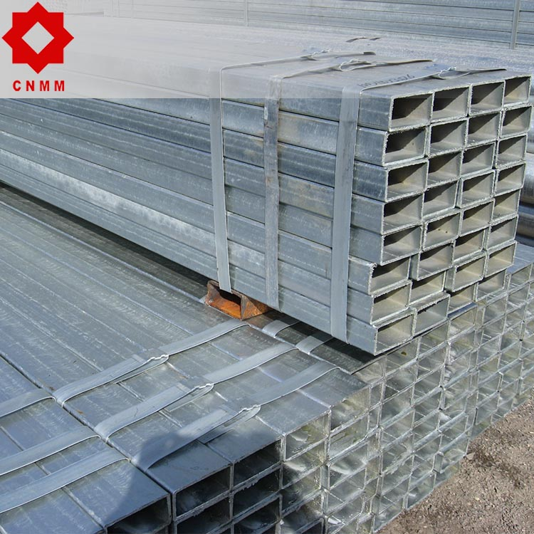 BS1387 galvanized erw steel pipe greenhouse fence posts
