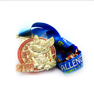 3d trophy champion marathon memorial medal