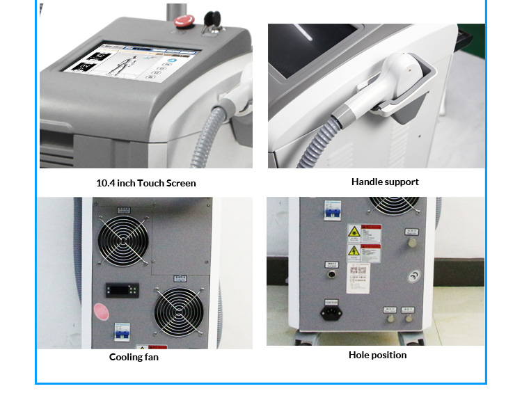 Advanced medical high power painless diode laser super epilation