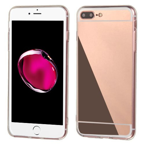 Plating mirror phone case for iphone 7 6 6s plus soft tpu for Mirror your phone