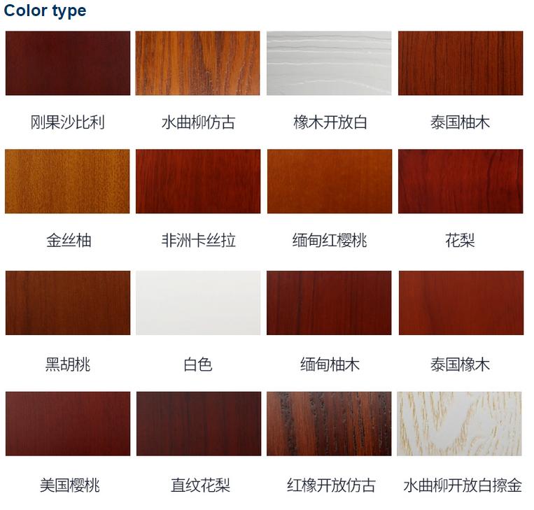 Lage prijs pvc badkamer flush houten deur glazen paneel
