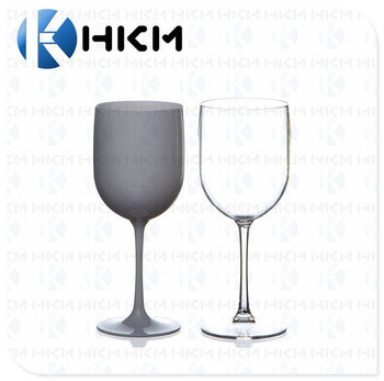 99f0862982a6 High Quality Customized plastic Fancy Giant Red Wine Glass champagne flute supplier  made in China