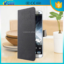 Litchi grain flip Wallet leather cover case can insert card standing for Sony Ericsson sl LT26ii