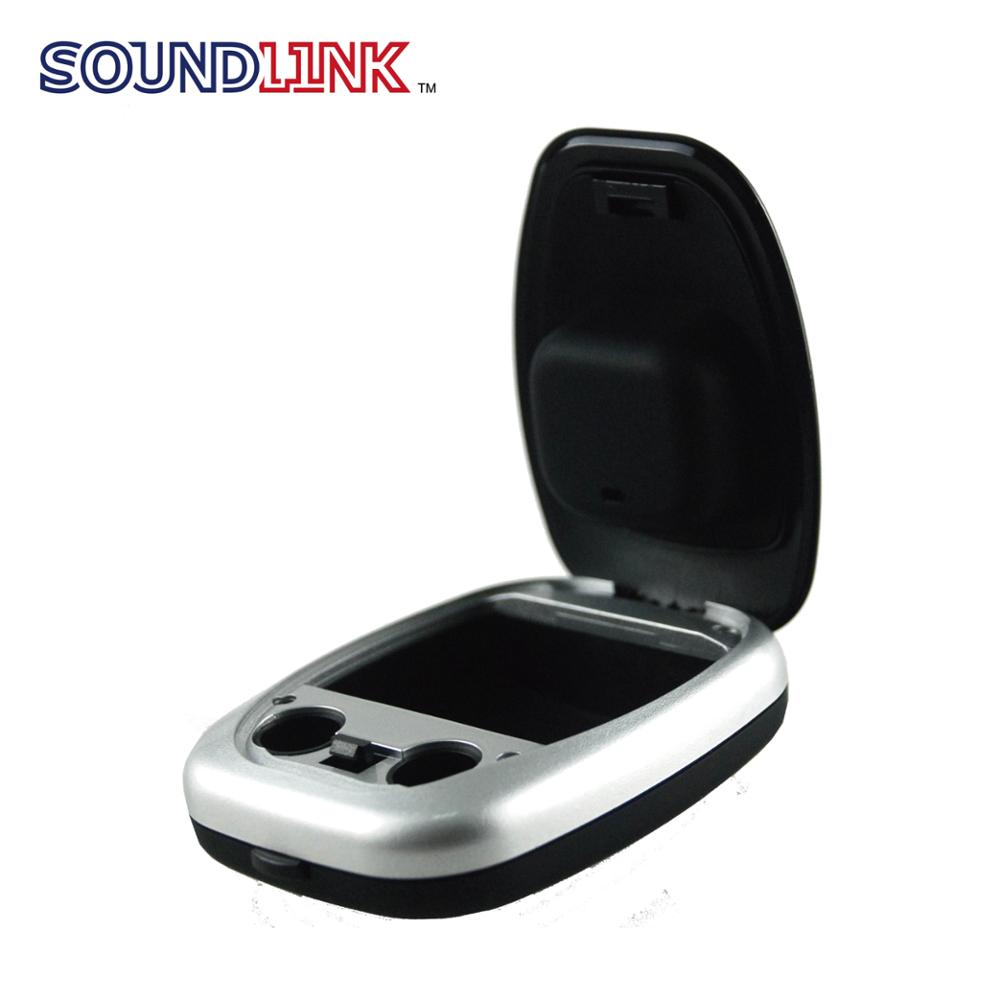 Cheap hearing aid parts ABS hearing aids container for pack digital hearing aid