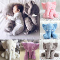 Fashion Long Nose Elephant Doll Pillow Soft Plush Animal Stuff Toy Cute Kids Pillow Toys For
