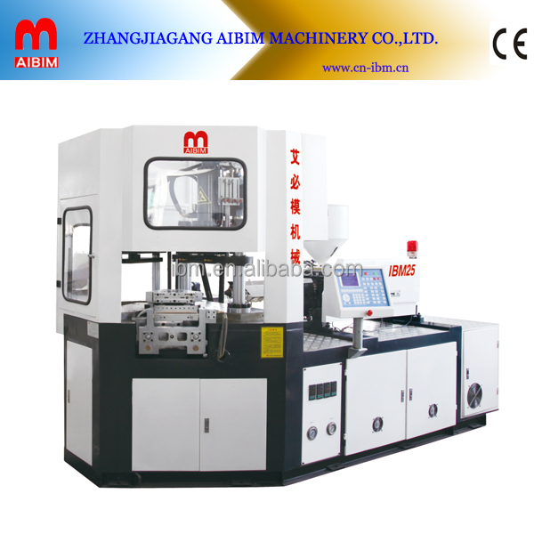 high output plastic making machine / IBM 25 injection blowing molding machine