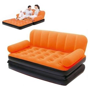 "Bestway 67356 74"" x 60"" x 25"" floding sofa chair inflatable bedroom sofa"