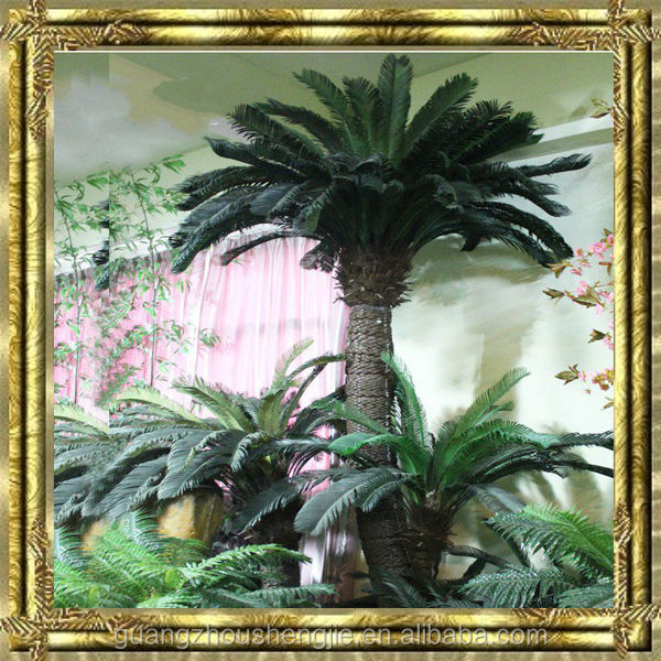3m steel artificial sago cycas palm trees