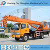 Quality Delivery 8ton side pickup boom lift truck