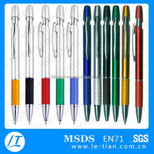 LT-Y1092 multi-color special hat design plastic retractable pen
