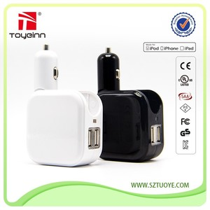 Dual USB Car/Home Charger And Wall Phone Charger Fast Car Usb Charger USB Device