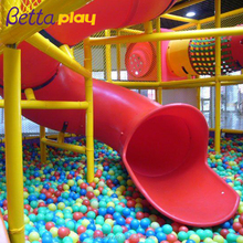 Children Indoor Children Plastic Slide Indoor Spiral Tube Slide