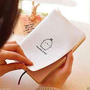 Buy Goforward New Cute School Notebook Molang Diary Weekly