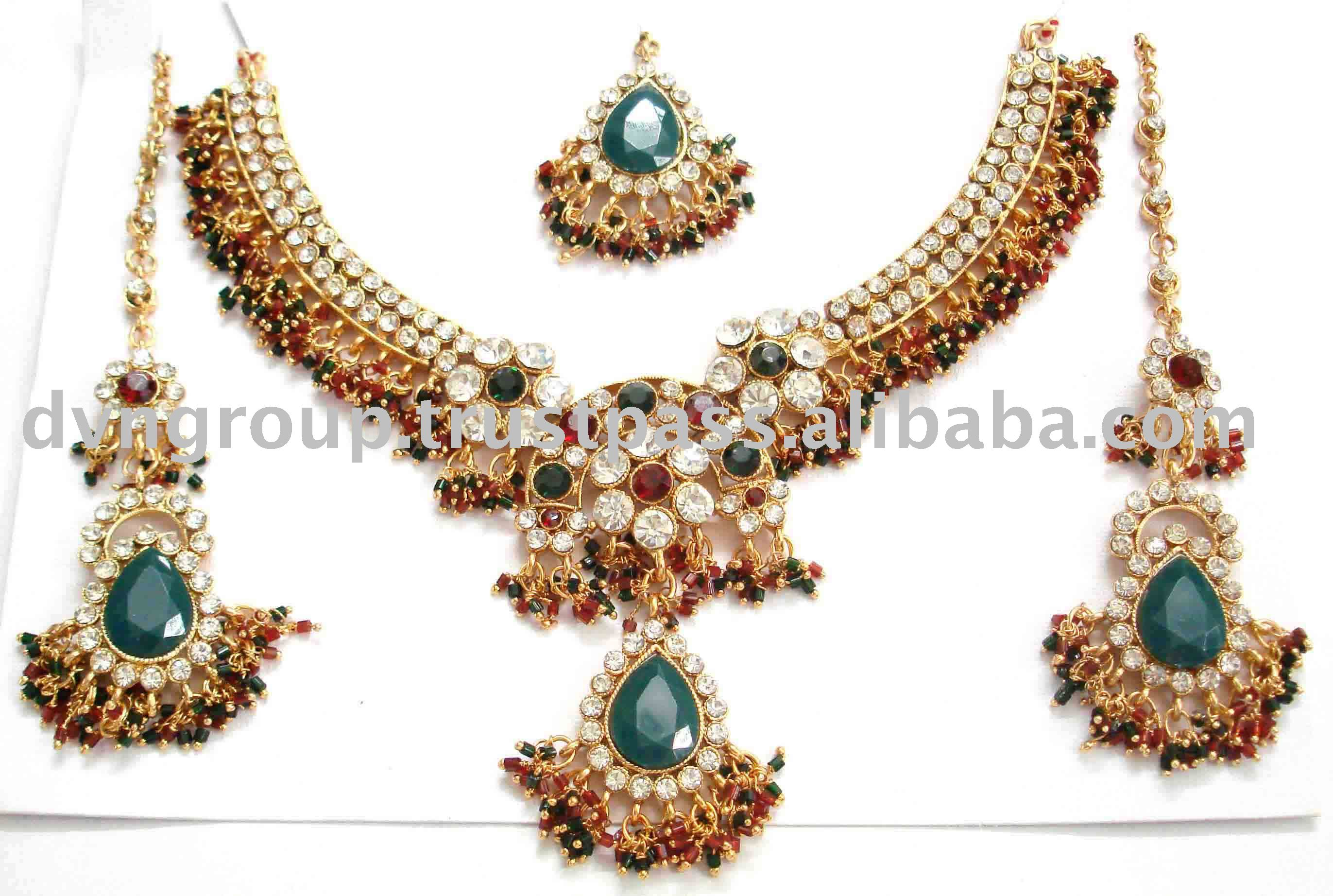 ethnic jewelry bollywood fashion elegant jewellery indian product set pendant