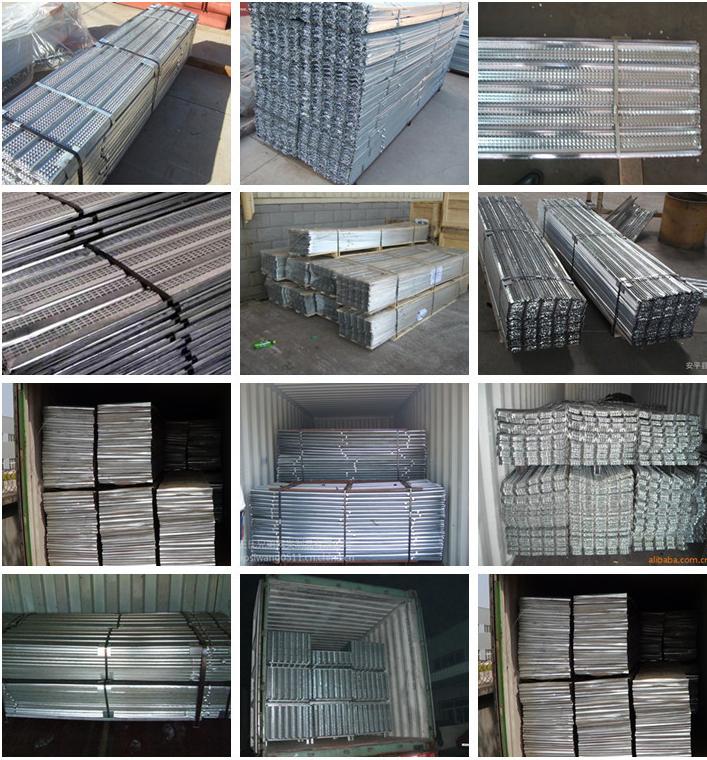 Metal Building Materials Expanded Metal Mesh Rib Lath