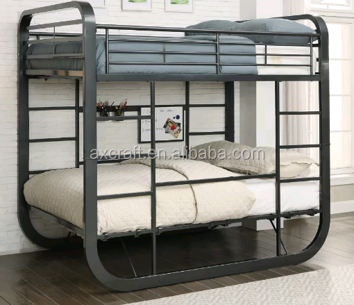 New double bunk <strong>bed</strong> design furniture loft steel bunk <strong>bed</strong>