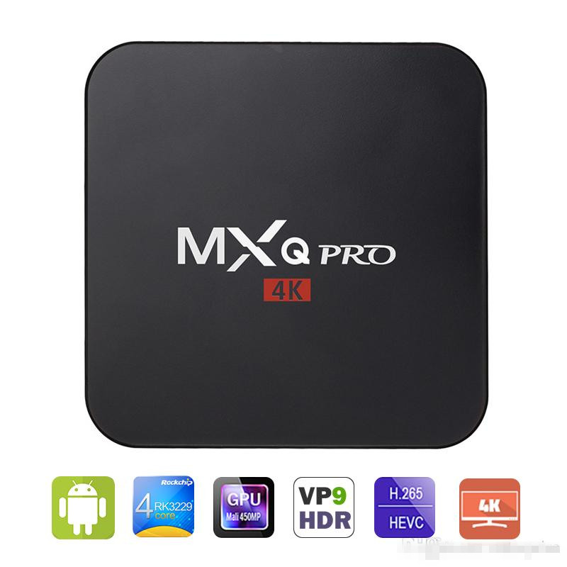 MXQ Pro Smart Android 5.1 <strong>TV</strong> <strong>Box</strong> Rockchip RK3229 Quad Core Google <strong>Set</strong> <strong>Top</strong> <strong>Box</strong> Fully Loaded