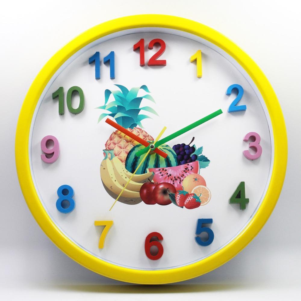 Картинки часы с фруктами