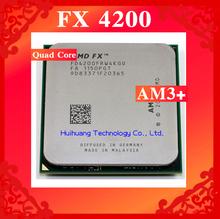 FX 4200 3.3GHz 8M Quad Core desktop processors CPU Socket AM3+ Computer Four nuclear Original authentic bulldozer