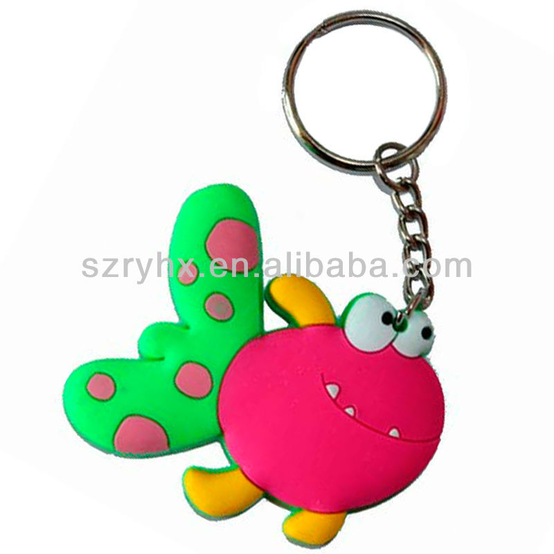 Happy smiling face keychain children