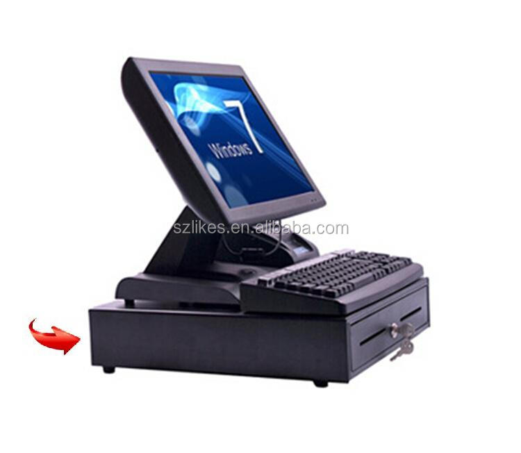 Shenzhen Manufacturer Supply Point of Sale PC POS Terminal with Keyboard