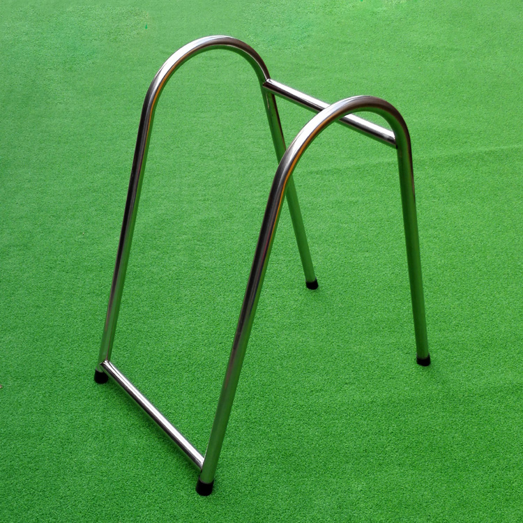 Metal wire display golf bag rack / golf course use display stand