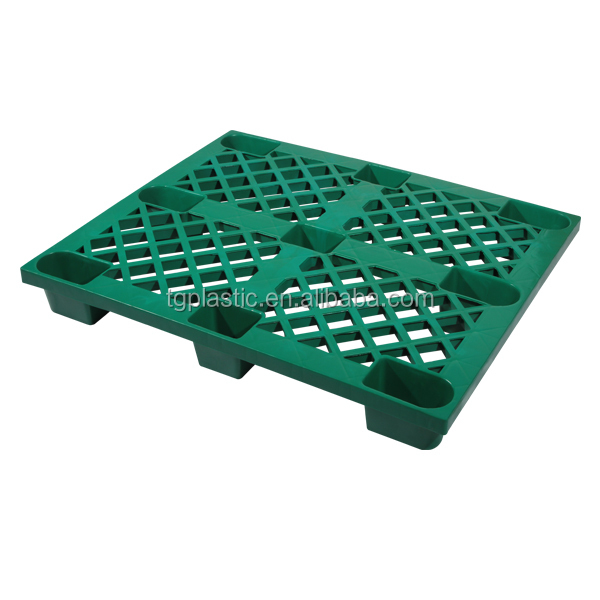 Euro standand single faced plastic pallet 1210