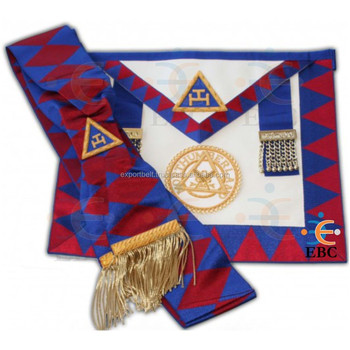 Royal Arch Supreme Grand Chapter Apron,Royal Arch Chapter Apron And  Sash,Masonic Regalia - Buy Royal Arch Apron And Sash,Masonic  Regalia,Masonic