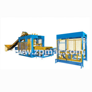 QT12-15health medical equipment price list of concrete block making machine in Netherlands