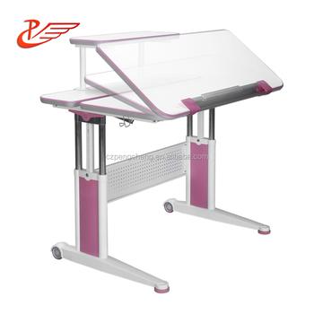 Desain Ergonomis Anak Meja Belajar Kayu Memiringkan Tinggi Disesuaikan Meja Anak Buy Tinggi Disesuaikan Meja Untuk Anak Anak Adjustable Meja Anak