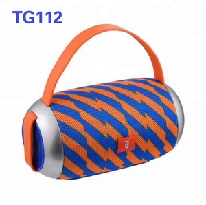 2018 Hot sale TG112 fashion Portable Wireless Mini Wireless Speaker Super Bass Boombox