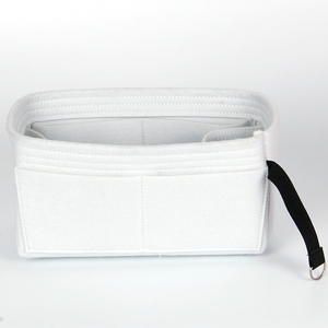 White travel case makeup cosmetic bags cases ladies