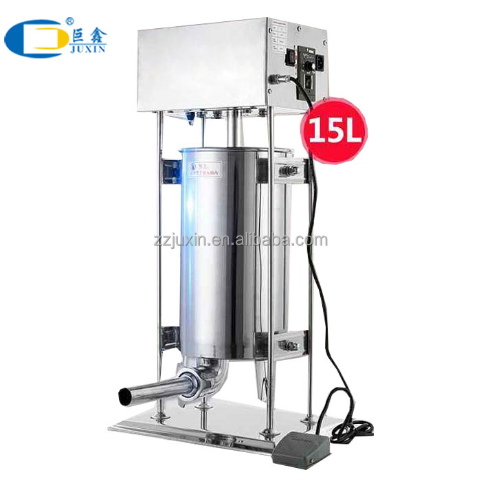 Commercial Electric Sausage Stuffer / Electric sausage filler factory