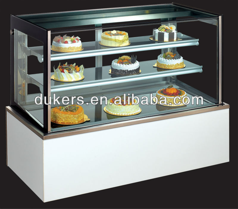 Marble Based Bakery Cooler Cake Display Cabinet Refrigerator 0 9 2 1m
