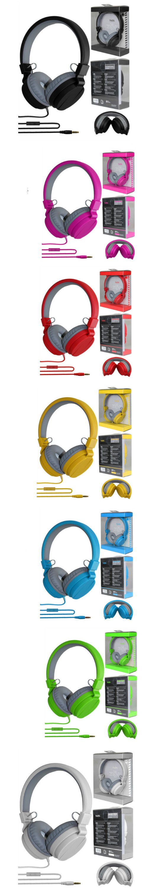 China Manufacturer Foldable Colorful Headphone,High Stereo Earphone for Mobile Phone