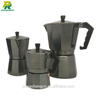 12 cup large capacity espresso moka pot aluminum coffee maker