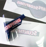 UV Printing Advertising Clear Transparent Static Cling Sticker