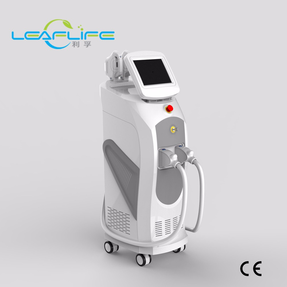 Vertical SHR IPL Elight for hair removal, skin rejuvenation and acne treatment