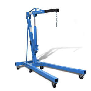 China Manufacturer 2 ton hydraulic shop crane for car engine