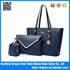 2016 New designer big size high quality pu leather shoulder bags 3 pcs in 1 set bags bags women shoulder handbag for lady