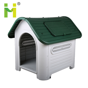 Plastic dog house Roof Skylight Window heated dog kennel