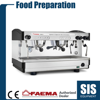 Commercial Automatic Smart Espresso 2 Cup Coffee Maker Machine FAEMA Authorized Dealer