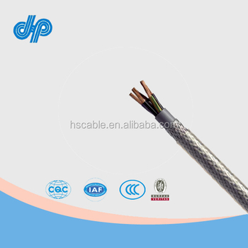Steel Wire Braided Cable Electrical 4 Core,10mm2,600/1000v,Cu/xlpe ...