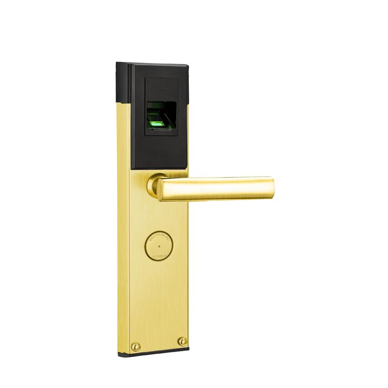 Residential Fingerprint Keyless Entry Door Locks Biometric Gate Lock