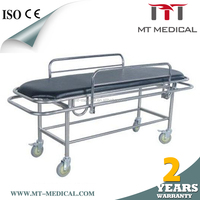 Best selling imports IV pole solid basket MES-5 medical trolley