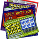 High Quality lottery ticket scratch card printing