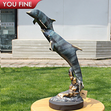 Garden Bronze Dolphin Statues, Garden Bronze Dolphin Statues Suppliers And  Manufacturers At Alibaba.com